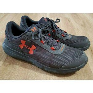 Under Armour Mens Toccoa Gray Sneakers Size 11.5